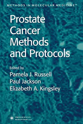 9781489938503: Prostate Cancer Methods and Protocols (Methods in Molecular Medicine)