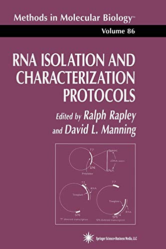 9781489942500: RNA Isolation and Characterization Protocols (Methods in Molecular Biology)