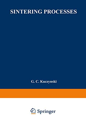 9781489953032: Sintering Processes (Materials Science Research) (Volume 13)