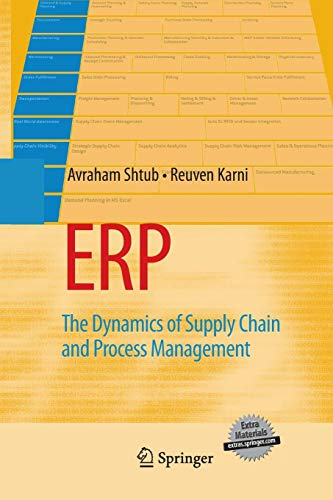 9781489973757: ERP: The Dynamics of Supply Chain and Process Management