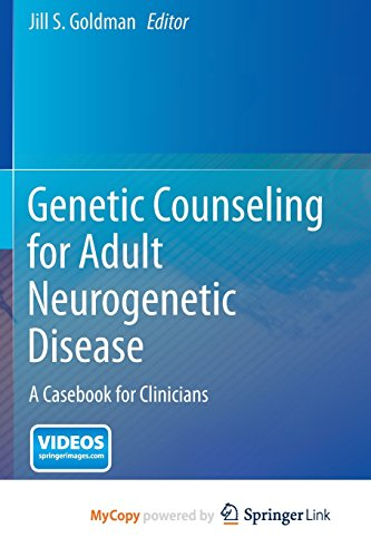 9781489974839: Genetic Counseling for Adult Neurogenetic Disease: A Casebook for Clinicians