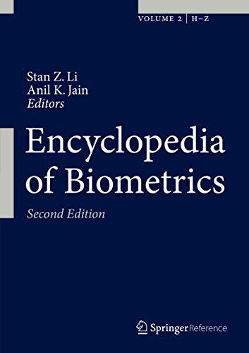 9781489974877: Encyclopedia of Biometrics