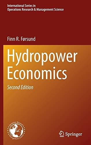 Hydropower Economics: Finn R. Førsund