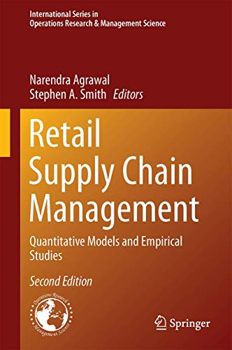 9781489975614: Retail Supply Chain Management: Quantitative Models and Empirical Studies