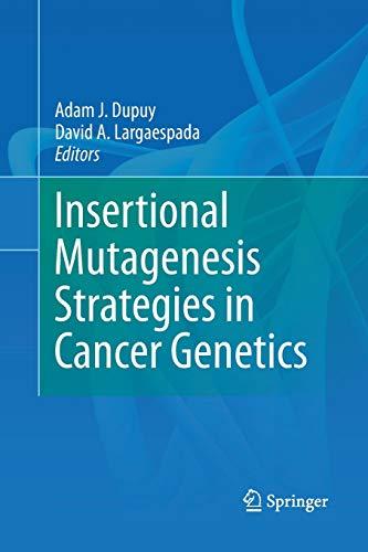 9781489981349: Insertional Mutagenesis Strategies in Cancer Genetics
