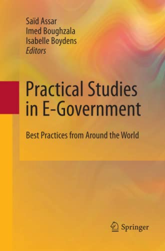 9781489981899: Practical Studies in E-government: Best Practices from Around the World