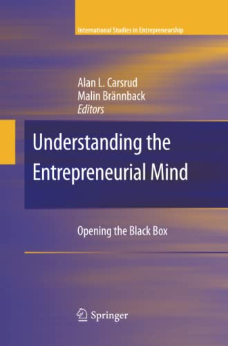 9781489982919: Understanding the Entrepreneurial Mind: Opening the Black Box (International Studies in Entrepreneurship)