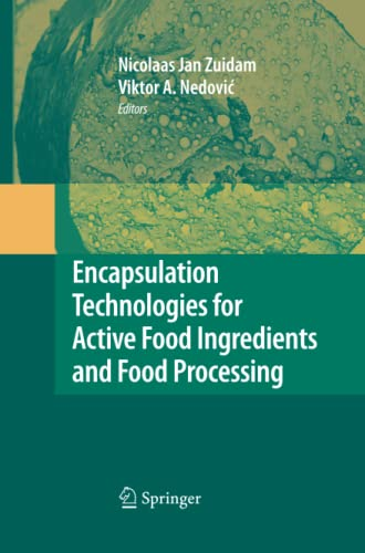 9781489983497: Encapsulation Technologies for Active Food Ingredients and Food Processing