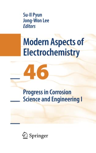 9781489983602: Progress in Corrosion Science and Engineering I (Modern Aspects of Electrochemistry)