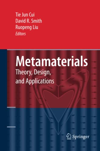 9781489983916: Metamaterials: Theory, Design, and Applications