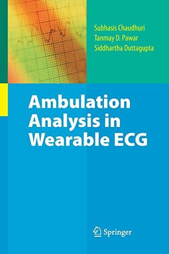 9781489984883: Ambulation Analysis in Wearable ECG