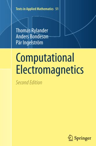 9781489986023: Computational Electromagnetics (Texts in Applied Mathematics)