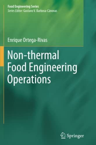 9781489989260: Non-thermal Food Engineering Operations (Food Engineering Series)