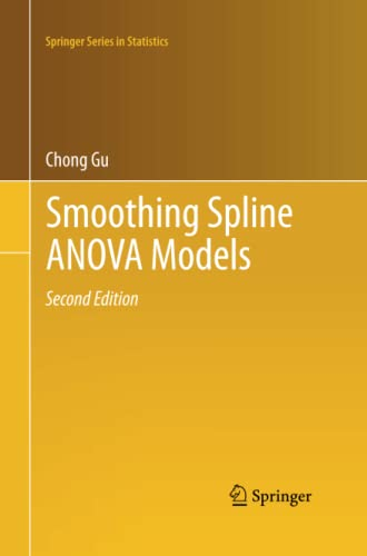 9781489989840: Smoothing Spline ANOVA Models (Springer Series in Statistics)