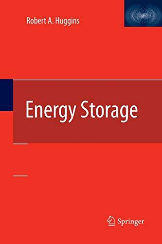 9781489990310: Energy Storage
