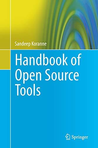 9781489991492: Handbook of Open Source Tools