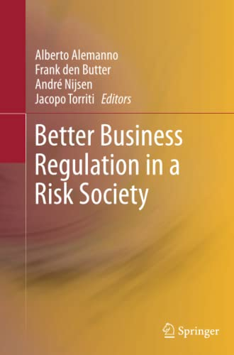 9781489991621: Better Business Regulation in a Risk Society
