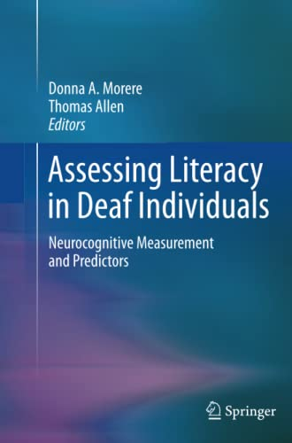 9781489992055: Assessing Literacy in Deaf Individuals