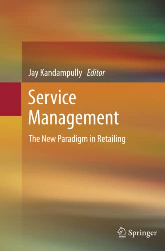9781489995773: Service Management: The New Paradigm in Retailing