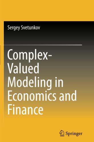 Complex-Valued Modeling in Economics and Finance: Svetunkov, Sergey