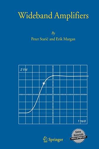 Wideband Amplifiers (Paperback): Peter Staric, Erik