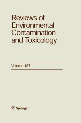Reviews of Environmental Contamination and Toxicology 187: GEORGE WARE