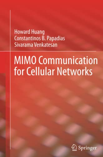 9781489996527: MIMO Communication for Cellular Networks