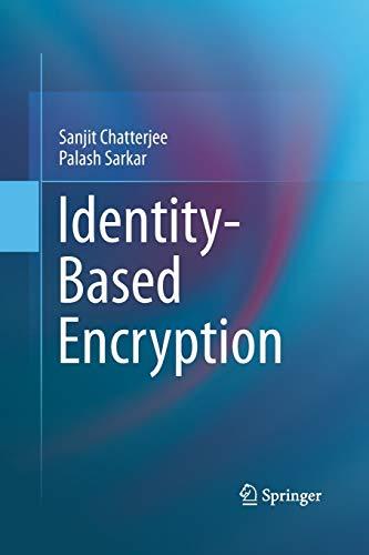 9781489996978: Identity-Based Encryption