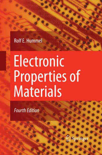 9781489998415: Electronic Properties of Materials