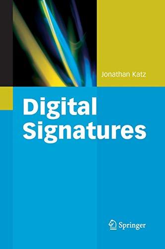 9781489998811: Digital Signatures