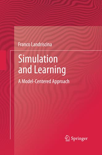9781489999658: Simulation and Learning: A Model-Centered Approach (English and Italian Edition)