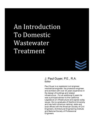 9781490320588: An Introduction to Domestic Wastewater Treatment