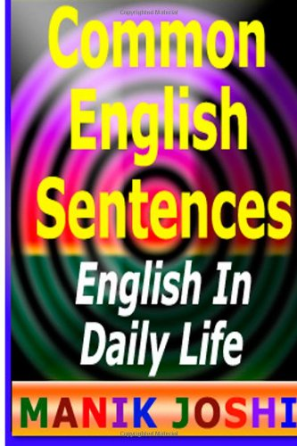 9781490331881: Common English Sentences