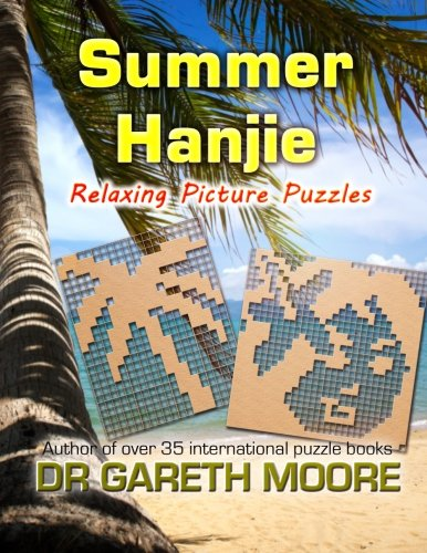 9781490351742: Summer Hanjie: Relaxing Picture Puzzles