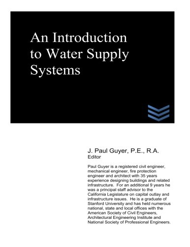 9781490368283: An Introduction to Water Supply Systems