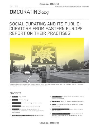 9781490371320: OnCurating Issue 18: Social Curating and its Public: Curators from Eastern Europe report on their PractiseS