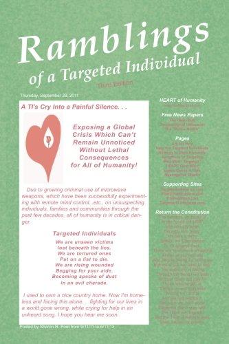 9781490408484: Ramblings of a Targeted Individual: Third Edition