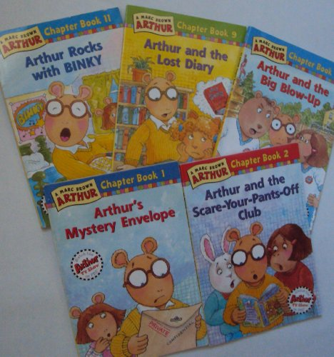 9781490418018: Arthur Chapter Books: Arthur's Mystery Envelope; Arthur and the Scare Your Pants Off Club; Arthur and the Lost Diary; Arthur and the Big Blow Up; Arthur Rocks with Binky (Book sets for Kids : Arthur Series by Marc Brown)