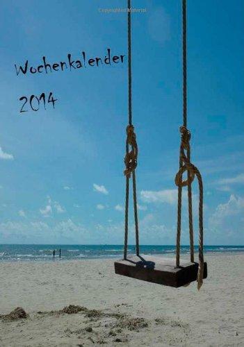 9781490427782: Wochenkalender Strand DIN A5