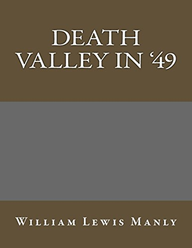 9781490464534: Death Valley in '49