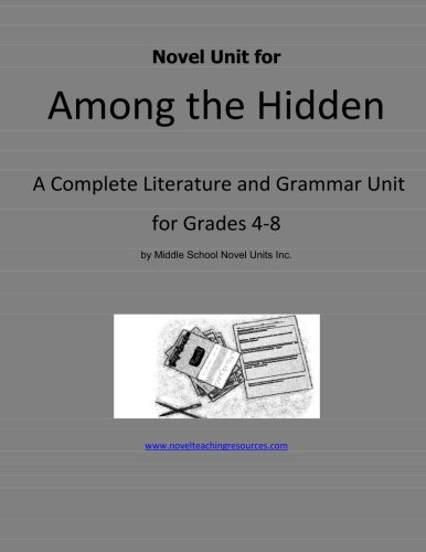 9781490476247: Novel Unit for Among the Hidden: A Complete Literature and Grammar Unit for Grades 4-8