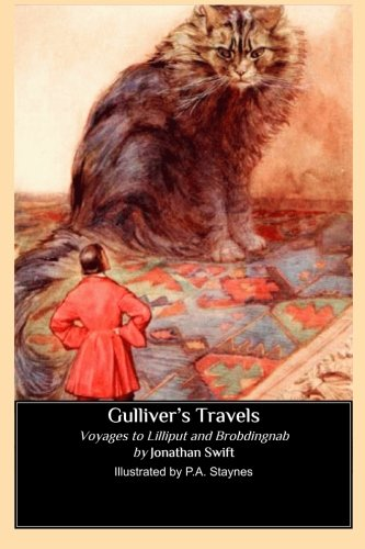 9781490491806: Gulliver's Travels (Illustrated by P. A. Staynes): Voyages to Lilliput and Brobdingnab