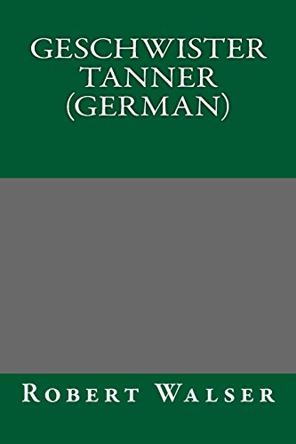 9781490499499: Geschwister Tanner (German)
