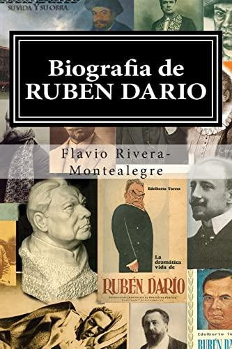 Biografia de Ruben Dario (Paperback): Flavio Rivera-Montealegre