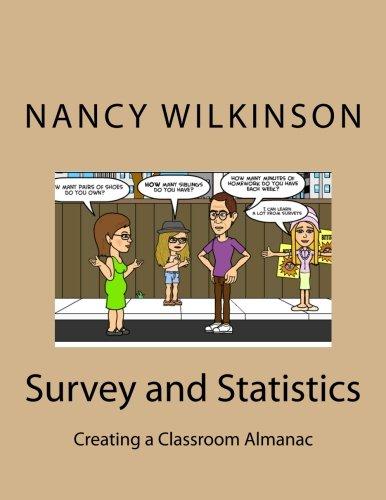 9781490505060: Survey and Statistics: Creating a Classroom Almanac