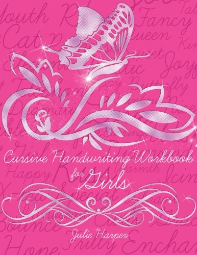 9781490515717: Cursive Handwriting Workbook for Girls