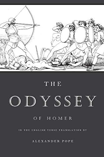 9781490516424: The Odyssey: The Verse Translation by Alexander Pope (Illustrated)