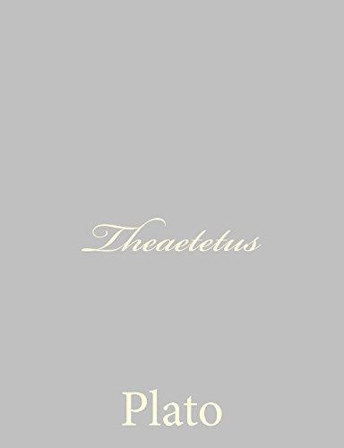 9781490536217: Theaetetus