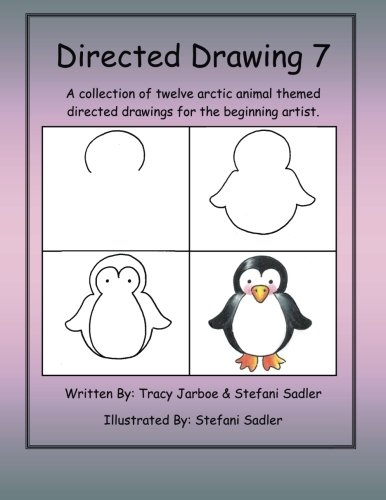9781490540597: Directed Drawing-7: A collection of twelve arctic animal themed directed drawings for the beginning artist. (Volume 7)