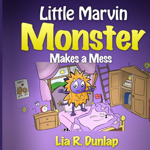 9781490550145: Little Marvin Monster: Makes a Mess